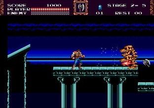 Test Castlevania : The New Generation Megadrive - Screenshot 4