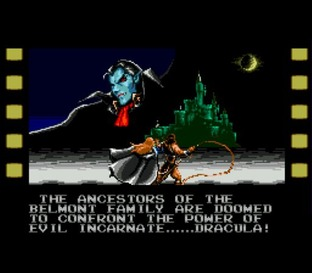 Test Castlevania : The New Generation Megadrive - Screenshot 5