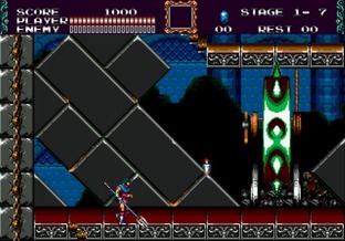 Test Castlevania : The New Generation Megadrive - Screenshot 6