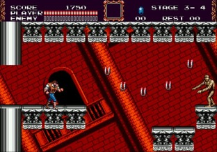 Test Castlevania : The New Generation Megadrive - Screenshot 7