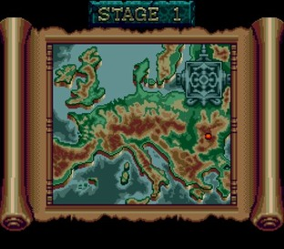 Test Castlevania : The New Generation Megadrive - Screenshot 8