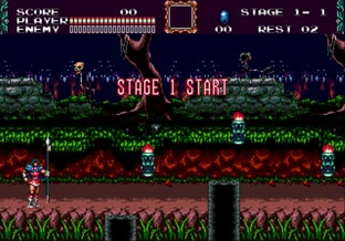 Test Castlevania : The New Generation Megadrive - Screenshot 10