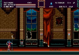 Test Castlevania : The New Generation Megadrive - Screenshot 11