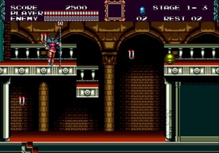Test Castlevania : The New Generation Megadrive - Screenshot 12