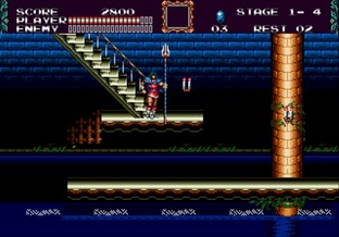 Test Castlevania : The New Generation Megadrive - Screenshot 13