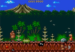 Test Chuck Rock Megadrive - Screenshot 1