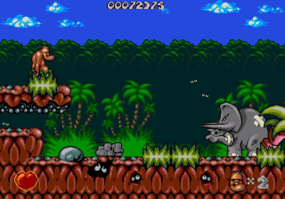 jeuxvideo.com Chuck Rock - Megadrive Image 4 sur 17