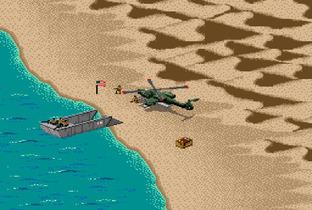 Desert Strike : Return to the Gulf Megadrive