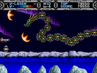 Test Gaiares Megadrive - Screenshot 14