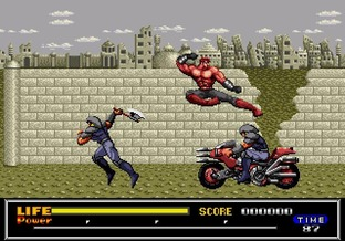 Test Last Battle Megadrive - Screenshot 26