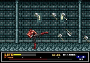 Test Last Battle Megadrive - Screenshot 27