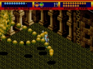 Test Light Crusader Megadrive - Screenshot 25