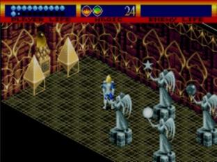 Test Light Crusader Megadrive - Screenshot 26