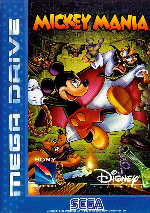 mickey mania the timeless adventures of mickey mouse sur megadrive. Black Bedroom Furniture Sets. Home Design Ideas