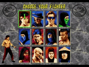 Test Mortal Kombat II Megadrive - Screenshot 3