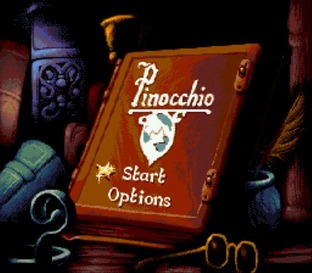 Test Pinocchio Megadrive - Screenshot 1