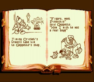 Test Pinocchio Megadrive - Screenshot 2
