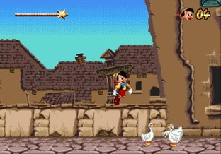 Test Pinocchio Megadrive - Screenshot 4