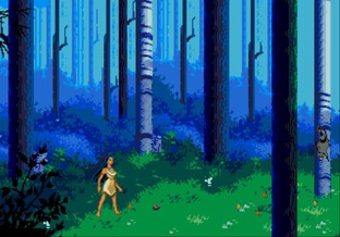 Test Pocahontas Megadrive - Screenshot 3