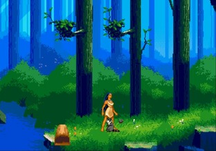 Test Pocahontas Megadrive - Screenshot 7