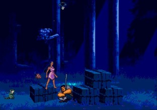 Test Pocahontas Megadrive - Screenshot 13