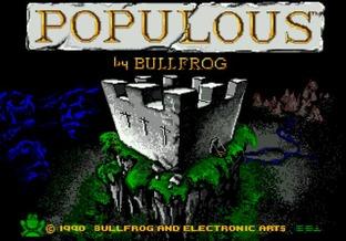 Images Populous Megadrive - 1