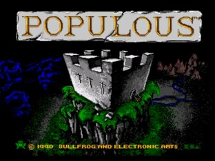 Images Populous Megadrive - 2