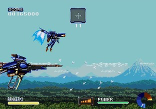 Test Ranger X Megadrive - Screenshot 26