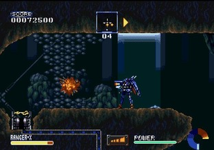 Test Ranger X Megadrive - Screenshot 27