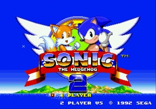 Sonic the Hedgehog 2 Megadrive