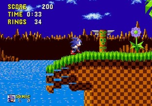 Sonic the Hedgehog MEGA - Screenshot 27