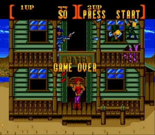 Test Sunset Riders Megadrive - Screenshot 3