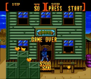 Test Sunset Riders Megadrive - Screenshot 4