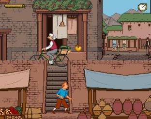 Test Tintin au Tibet Megadrive - Screenshot 53