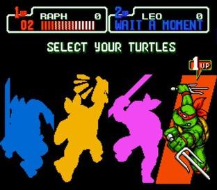 Teenage Mutant Ninja Turtles : The Hyperstone Heist - Megadrive