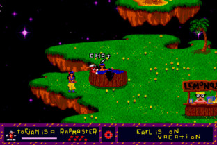 Test ToeJam & Earl Megadrive - Screenshot 3