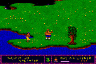 Test ToeJam & Earl Megadrive - Screenshot 4