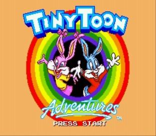 TinyToonAdventures:Buster'sHiddenTreasureMegadrive