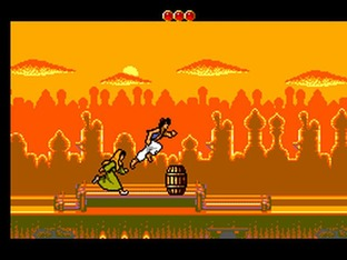 Test Aladdin Master System - Screenshot 9