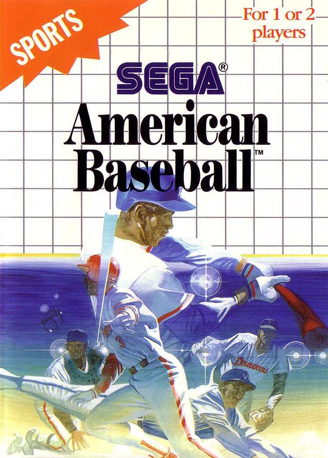 jeuxvideo.com American Baseball - Master System Image 1 sur 6