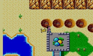 Test Phantasy Star Master System - Screenshot 16