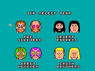 Images Pro Wrestling Master System - 2
