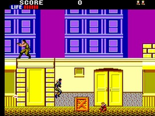 Test Shinobi Master System - Screenshot 1