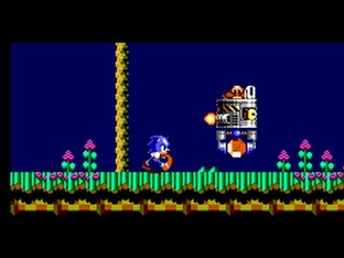 Test Sonic Chaos Master System - Screenshot 1