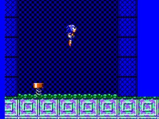 Test Sonic Chaos Master System - Screenshot 2