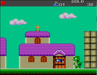 Test Wonder Boy III : The Dragon's Trap Master System - Screenshot 14