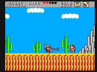 Test Wonder Boy in Monster Land Master System - Screenshot 5