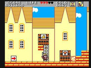 Test Wonder Boy in Monster Land Master System - Screenshot 7