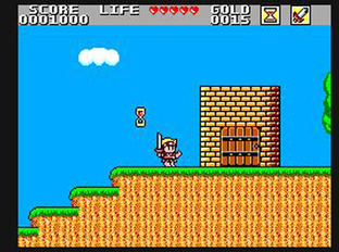 Test Wonder Boy in Monster Land Master System - Screenshot 9