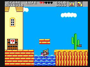 Test Wonder Boy in Monster Land Master System - Screenshot 10